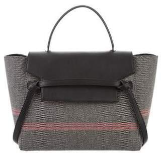 Celine 2017 Tweed Mini Belt Bag
