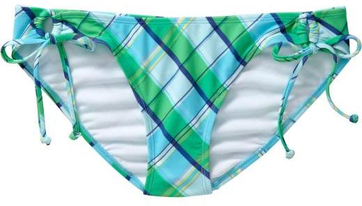 Women's Plaid String Bikinis
