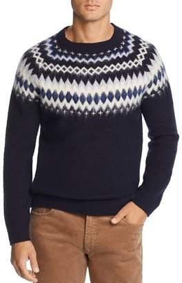 Bloomingdale's The Men's Store at Merino Wool Fair Isle Sweater - 100% Exclusive