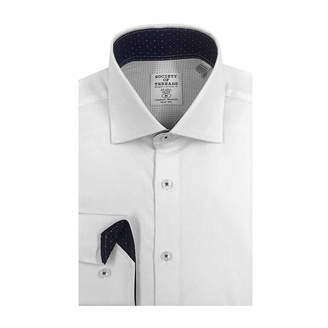 SOCIETY OF THREADS Society of Threads Long Sleeve Dress Shirt Big and Tall