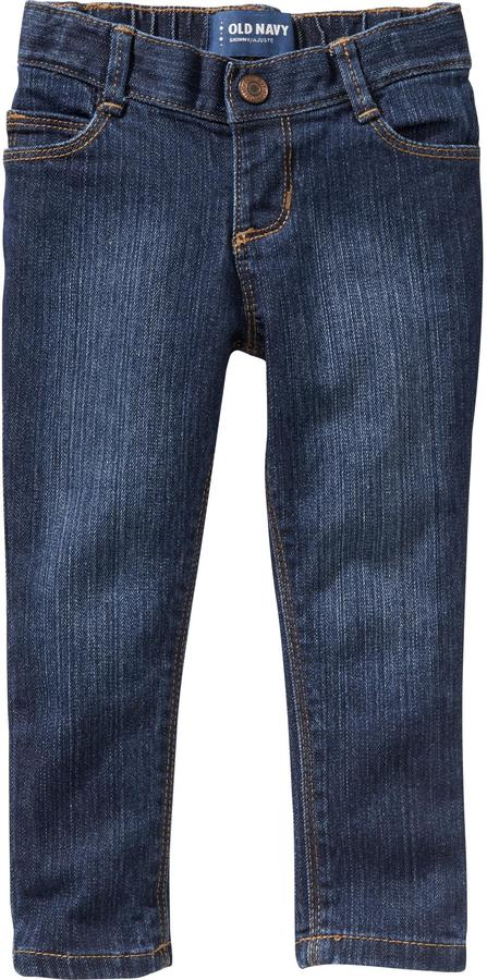 Old Navy Dark-Wash Skinny Jeans for Baby