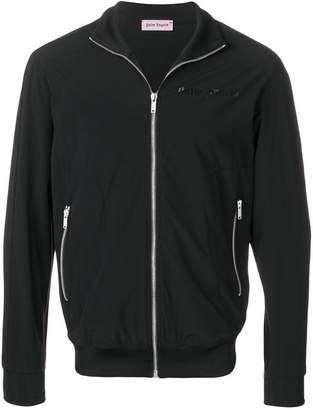 Palm Angels slim-fit zip-up jacket