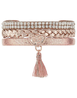 Monsoon Mixed Strand Tassel Wrap Bracelet
