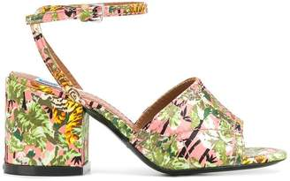 Kenzo Jungle Tiger Daria sandals