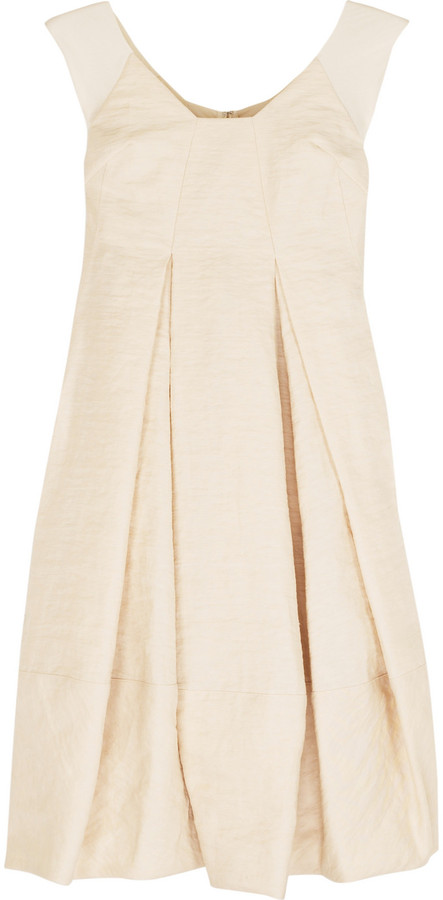 Donna Karan Crushed linen dress