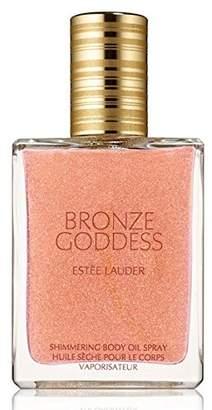 Estee Lauder Bronze Goddess Shimmering Body Oil Spray 1.5 FL Oz by