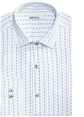 Bar III Men's Slim-Fit Stretch Easy-Care Vine Stripe Dress Shirt, Created for Macy's