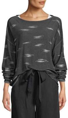 Eileen Fisher Pattern Tencel Sweater