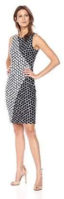 Calvin Klein Women's Polka Dress