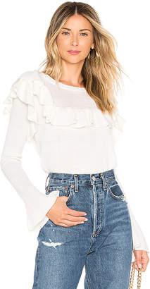 Tularosa Alexandria Ruffle Sweater