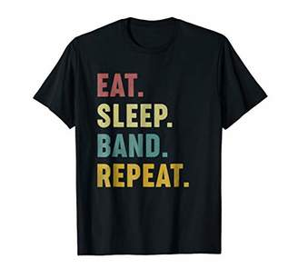 Eat Sleep Band Repeat T-Shirt - Band Lovers Tees