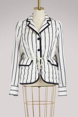 Moncler Maila striped jacket