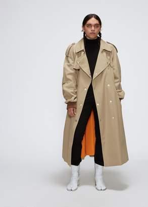 Maison Margiela Oversized Twill Trench Coat