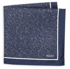 HUGO Speckled Square Silk Scarf