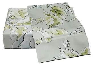 Belle Epoque White/Beige Marigold King Sheet Set
