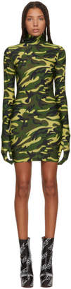 Vetements Green Camo The Styling Dress