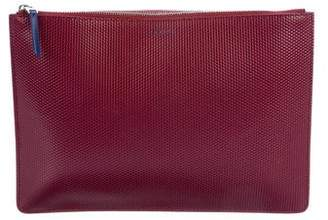 Celine Embossed Spazzolato Pouch