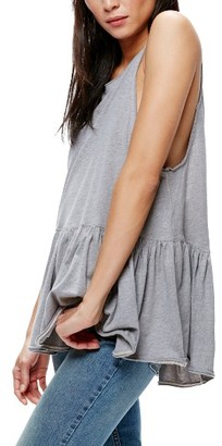 Women's Free People Cantina Ruffle Tank $48 thestylecure.com