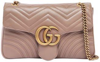 Gucci Medium Gg Marmont 2.0 Leather Bag