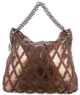Chanel Python Soft & Chain Hobo