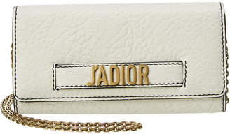 Christian Dior J'adior Leather Clutch