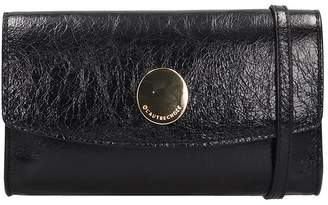 L'Autre Chose Lautre Chose LAutre Chose Continental Wallet Black Leather