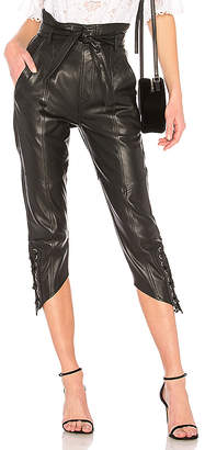 Marissa Webb Aubrie Leather Pant