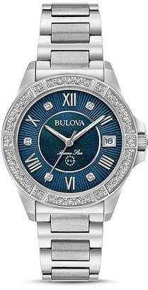 Bulova Marine Start Watch, 32mm $550 thestylecure.com