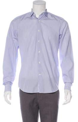 Valentino Striped Woven Shirt