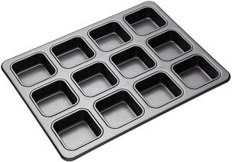 Mastercraft Heavy Base 12-Cup Square Brownie Pan