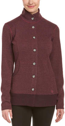 Mountain Hardwear Sarafin Wool-Blend Button Front Sweater