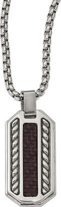 FINE JEWELRY Edward Mirell Mens Sterling Silver Pendant Necklace