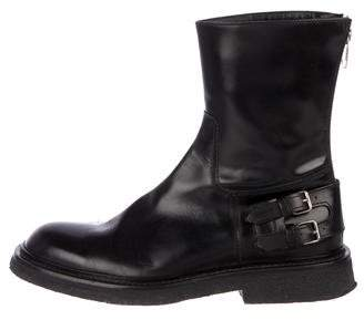 Christian Dior 2007 'Navigate, Navigate' Leather Ankle Boots