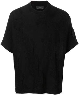 Stone Island Shadow Project creased boxy T-shirt