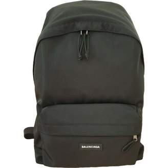 Balenciaga Black Synthetic Backpacks