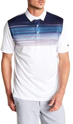 Callaway GOLF Space Dye Print Polo
