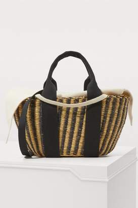 Muun Ava basket bag with pouch