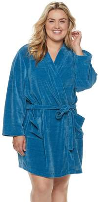 Sonoma Goods For Life Plus Size SONOMA Goods for Life Chenille Wrap Robe