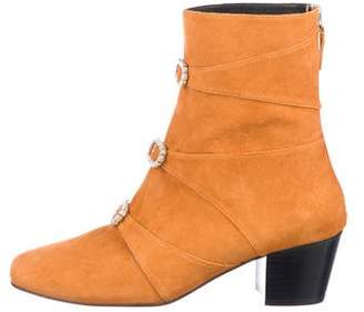 Dorateymur Suede Embellished Boots