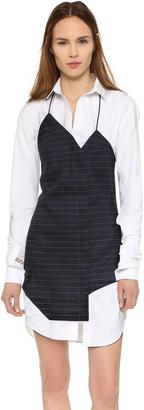 Jacquemus Shirtdress $504 thestylecure.com