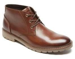 Rockport Sharp Ready Leather Chukka Boots