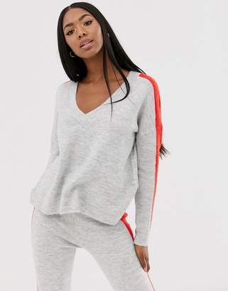 Asos Design DESIGN two-piece sweater with tipping