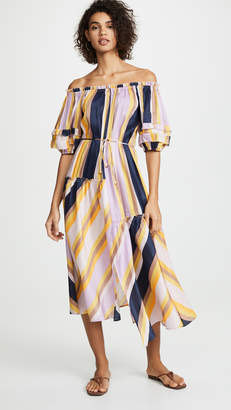 Apiece Apart Sandrine Off Shoulder Dress