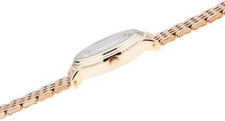 Disney Mickey Mouse Womens Gold Tone Bracelet Watch-Wds000688