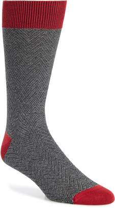 Ted Baker Doni Herringbone Socks