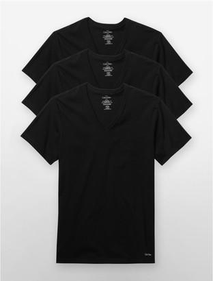 Calvin Klein slim fit 3-pack v-neck t-shirt