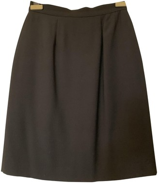 Chantal Thomass Black Wool Skirt for Women