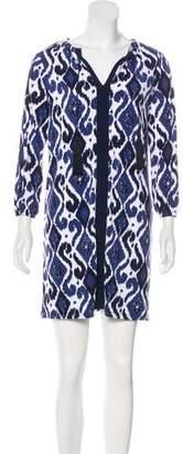 MICHAEL Michael Kors Ikat Halter Dress