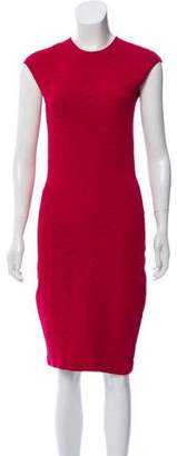 Alexander McQueen Textured Bodycon Dress