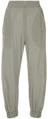 Zero Maria Cornejo gingham-print trousers